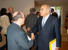 António Vitorino e Fausto Quadros