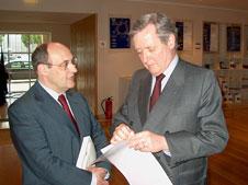 António Vitorino e Fernando Neves