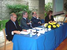 Fausto Quadros, Fernando Neves, António Vitorino e Margarida Cardoso - Mesa
