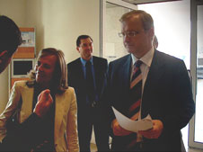 Margarida Marques, Patrão Romano e Olli Rehn