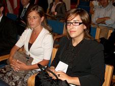 Patrícia Fragoso Martins e Sandra Dias Fernandes