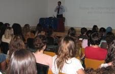 Sessão «Fontes de informação europeia» na Escola Secundária de Alcochete