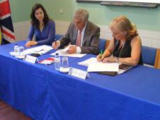 Assinatura do Protoloco de Cooperação