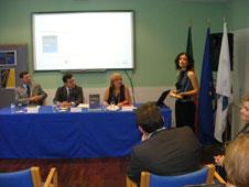 Maria Fernandes Teixeira na atribuição da Menção Honrosa do Prémio Jacques Delors 2011