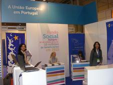 O CIEJD na Futurália: stand UE em Portugal