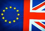 Bandeiras UE e RU